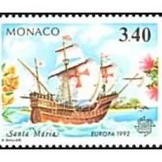 Monaco 1992 - Europa, serie neuzata