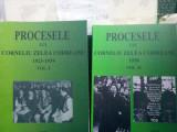 PROCESELE LUI CORNELIU ZELEA CODREANU 1923-1938 2VOL 382+248P MISCAREA LEGIONARĂ