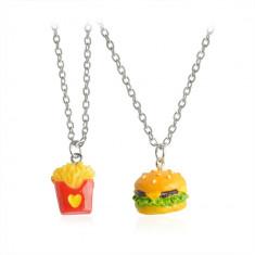 Medalion / Pandantiv / Colier / Lantisor - BFF / BEST FRIENDS McDonald's