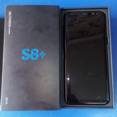 Samsung Galaxy S8 Plus - Telefon Samsung, Negru, Neblocat, Single SIM