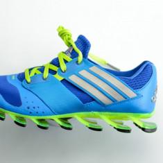 Adidas Springblade solyce running barbati - Adidasi barbati, Marime: 40, 40 2/3, 41 1/3, 42, 42 2/3, 44, 45 1/3, 46, Culoare: Albastru, Textil