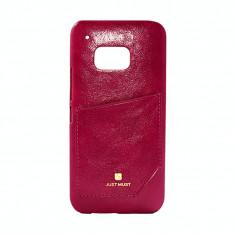 Husa Protectie Spate Just Must Chic Wine pentru Samsung Galaxy S6 G920, Gel TPU