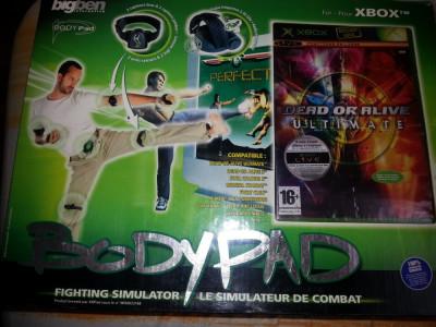 BigBen Body Pad - Fighting Simulator lupta nou + JOC COMPATIBIL nou foto