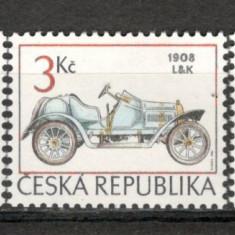 Cehia. 1994 Automobile de epoca KZ.284 - Timbre straine, Nestampilat