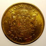 2.403 ROMANIA MIHAI I 2000 LEI 1946 XF, Alama