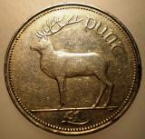 2.423 IRLANDA CERB 1 PUNT POUND 1990, Europa, Cupru-Nichel