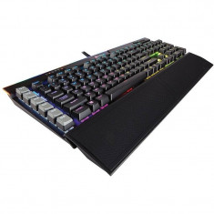 Tastatura gaming mecanica Corsair K95 RGB PLATINUM Cherry MX Brown Layout EU Black - Tastatura PC