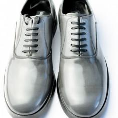 Pantofi barbat D&Gi Dolce&Gabbana, Marime: 43, Culoare: Gri