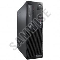 Calculator Incomplet Lenovo M75e DT, AMD Athlon II X2 220 2.8GHz, DVD-RW, DDR3, SATA2, Video ATI Radeon 3000 DVI VGA - Sisteme desktop fara monitor