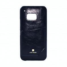 Husa Protectie Spate Just Must Chic Black pentru Samsung Galaxy S6 G920 - Husa Telefon, Gel TPU