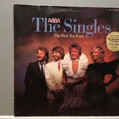 ABBA - THE SINGLES - 2LP SET (1982/POLYDOR REC /RFG) - Vinil/Analog/Impecabil - Muzica Pop universal records