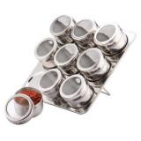Set condimente Bohmann, 10 piese, suport magnetic