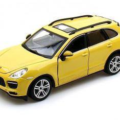 Porsche Cayenne Turbo - Galben mustar - Minimodel auto 1:24 Star Collezione - Masinuta Bburago