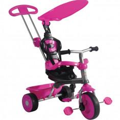 Tricicleta Galaxy 3 in 1 TRIKE STAR - ROZ - Tricicleta copii