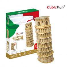 Turnul Inclinat din Pisa - Puzzle 3D - 30 de piese