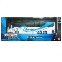 Autobuz transport persoane - alb