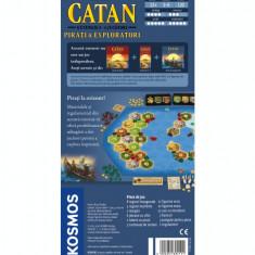Catan extensie Pirati si Exploratori 5-6 jucatori - Joc board game