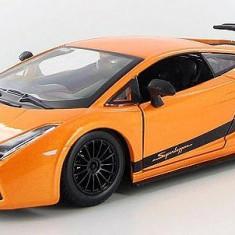 Lamborghini Gallardo Superleggera - portocaliu metalizat - 1:24 - Masinuta Bburago