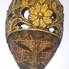 Masca lemn Venetia 25x15 cm - Arta locala