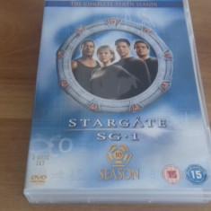 STARGATE SG-1 Season 10 - 20 EP - DVD [A, B, C] - Film serial, Drama, Engleza