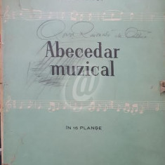 Abecedar muzical in 15 planse - Album Arta