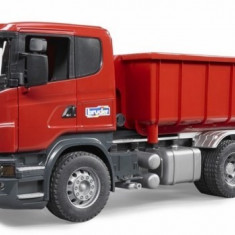 MINIMODELE 1:16 BR7 - SCANIA CAMION CU CONTAINER - BRUDER