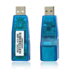 Placa adaptor retea lan usb 10/100 Mbps davicom kh886 kh-886 - Placa de retea