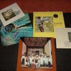 Lot 3 LP Los Sabadenos-Cantan A Hispanoamerica Vol.1+2+3 vinil vinyl - Muzica Folk Altele