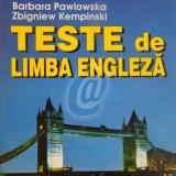 Teste de limba engleza - Carte in engleza