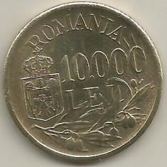 ROMANIA MIHAI I 10.000 10000 LEI 1947 [2] XF++, livrare in cartonas - Moneda Romania, Cupru-Nichel