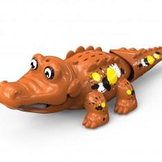 Crocodil interactiv - maro - Jucarie interactiva
