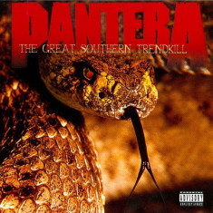 Pantera Great Southern Trendkill (cd) - Muzica Rock
