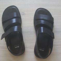 Sandale barbatesti Bata din piele - Sandale barbati Bata, Marime: 40, Culoare: Negru