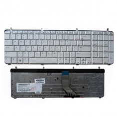 Tastatura laptop HP Pavilion DV7-3000 white