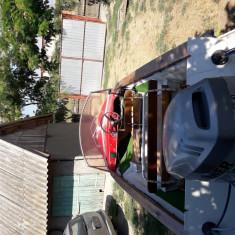 Barca tip Canada cu motor 30CP(4 timpi) si peridoc - Barca cu motor