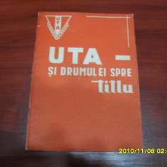 Brosura UTA campioana 1969
