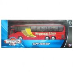 Autobuz transport persoane - rosu - Cartela telefonica straina