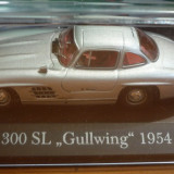 Macheta Mercedes Gullwing, scara 1/43, Ixo/Altaya - Macheta auto