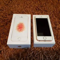 IPhone SE rose gold ** full box ** - Telefon iPhone Apple, Roz, 16GB