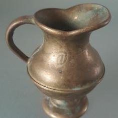 Cana bronz, vintage, 7 cm - Arta din Metal