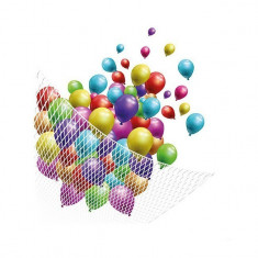 Plasa alba pentru lansare baloane, capacitate 200 baloane - Decoratiuni petreceri copii