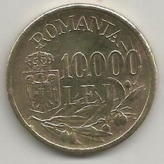 ROMANIA MIHAI I 10.000 10000 LEI 1947 [5] XF, livrare in cartonas - Moneda Romania, Cupru-Nichel