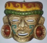 Masca Egipt, 26x28 cm, din ceramica