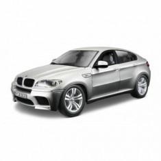 BMW X6 M - gri - Kit de asamblare - 1:18 - Masinuta Bburago