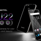 Oukitel U22 NOU, 3G,5.5inci HD,Quad-core,2gb,16gb, 4 Camere 13mpx+8mpx,Android 7