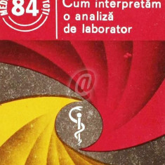 Cum interpretam o analiza de laborator - Carte Diagnostic si tratament