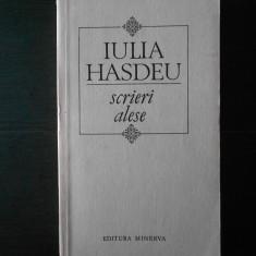 IULIA HASDEU - SCRIERI ALESE - Roman