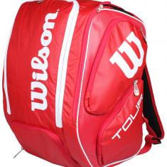 Tour V Backpack XL 2016 Geanta sport rosu - Geanta tenis Wilson