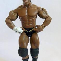 Figurina Action WWE Wrestling luptator, Elijah Burke, 2003 Jakks Pacific, 18cm