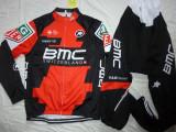 Echipament ciclism BMC complet iarna toamna primavara set NOU bluza pantaloni